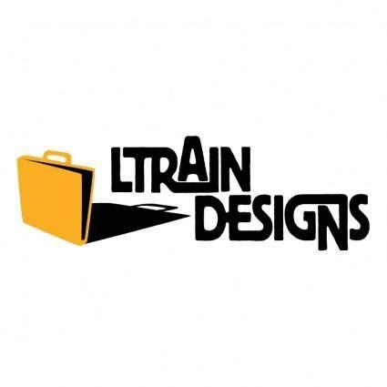 free vector Ltrain designs