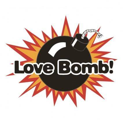 free vector Love bomb