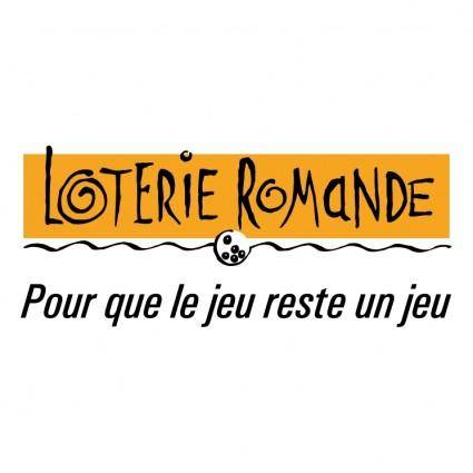 free vector Loterie romande