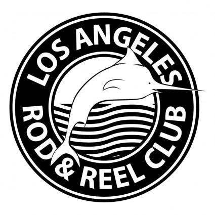 free vector Los angeles rod reel club