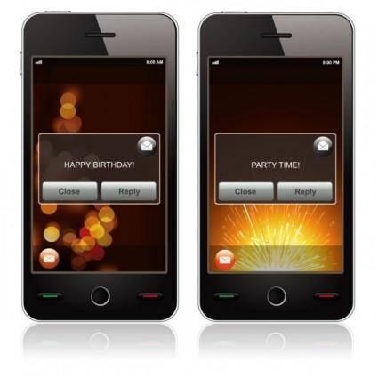 free vector Smart phone 01 vector