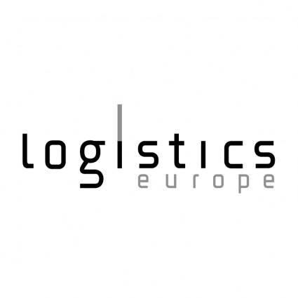Logistics europe