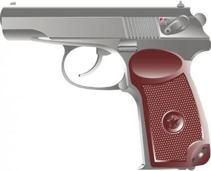 free vector Pistol vector