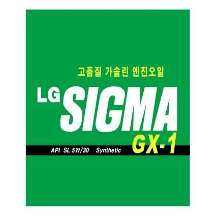 Lg sigma gx 1