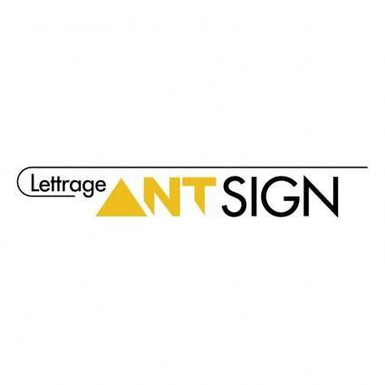 free vector Lettrage antsign enrg