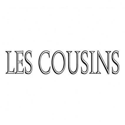 free vector Les cousins