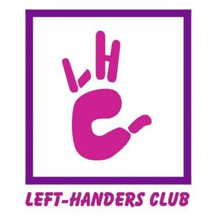 free vector Left handers club
