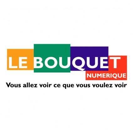 free vector Le bouquet numerique
