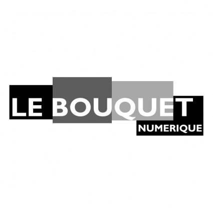 free vector Le bouquet numerique 1