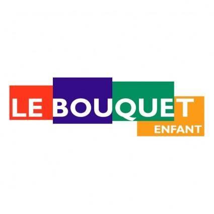 free vector Le bouquet enfant
