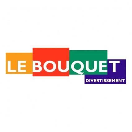 free vector Le bouquet divertissement