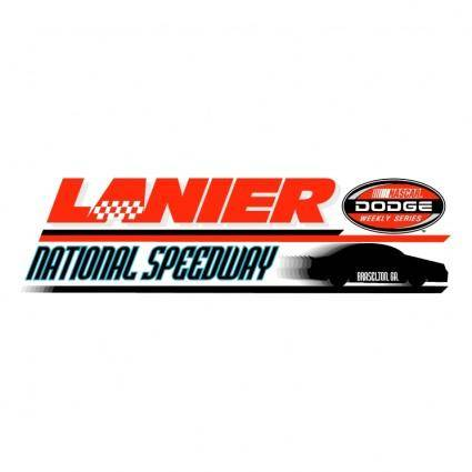 free vector Lanier national speedway 0