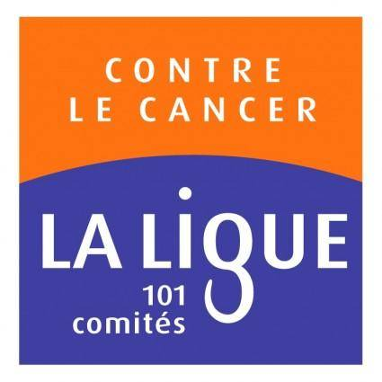 free vector La ligue contre le cancer