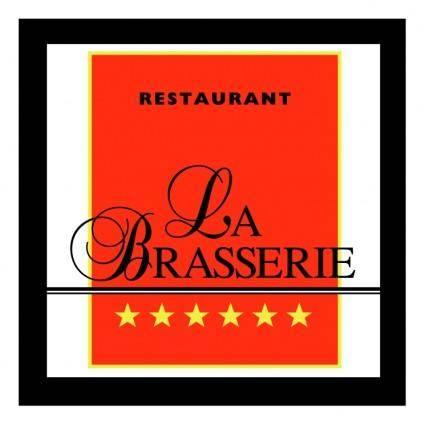 free vector La brasserie