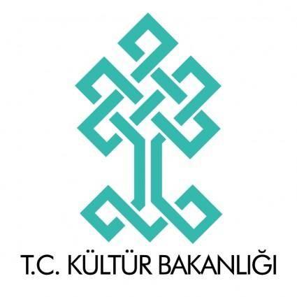 free vector Kultur bakanligi