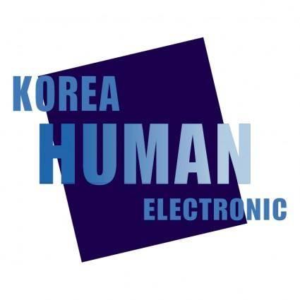 Korea human electronic
