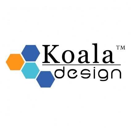 free vector Koala design