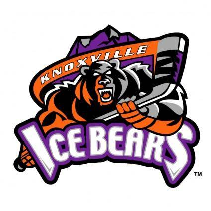 free vector Knoxville ice bears