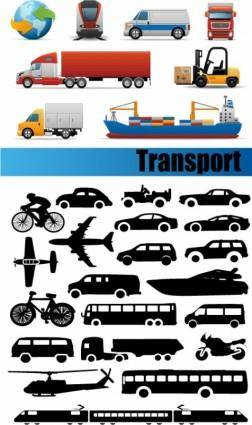 free vector Transport vector