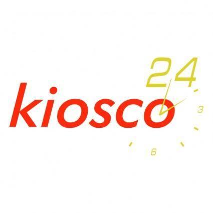 free vector Kiosco 24