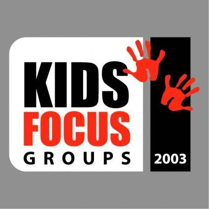 free vector Kids focus group