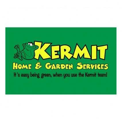 free vector Kermit home garden services