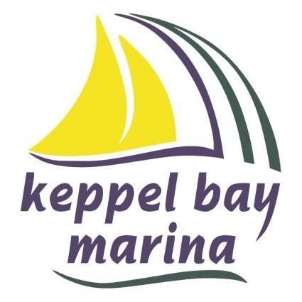 free vector Keppel bay marina