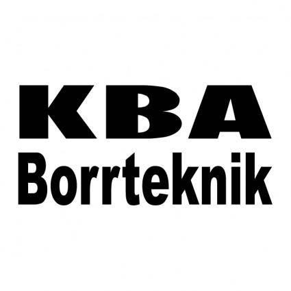 free vector Kba borrteknik