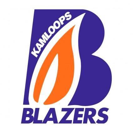 free vector Kamloops blazers