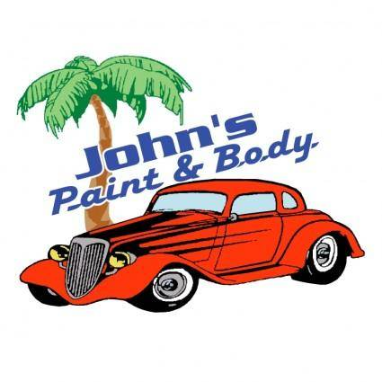 free vector Johns paint body