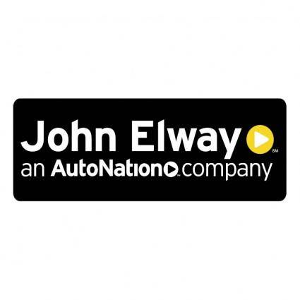 free vector John elway