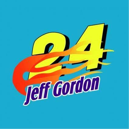 free vector Jeff gordon 0