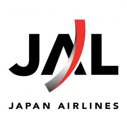 free vector Japan airlines 4