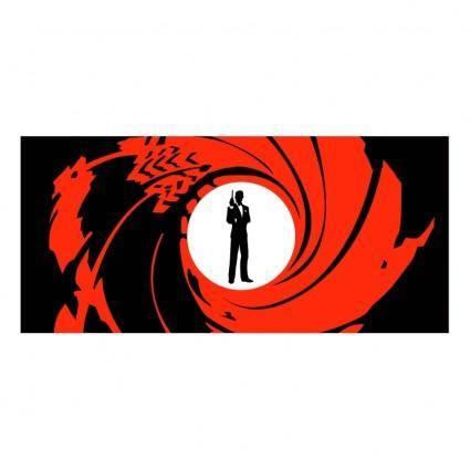 free vector James bond 007 0