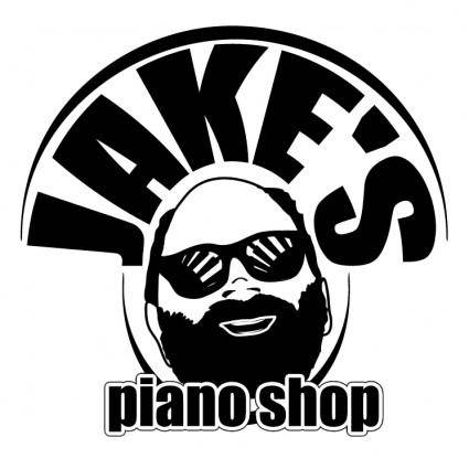 free vector Jakes piano shope