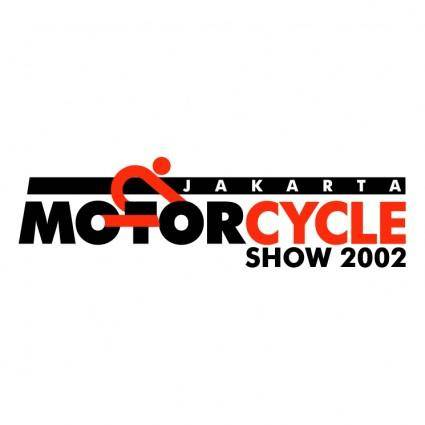 free vector Jakarta motorcycle show 2002