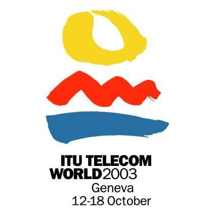 free vector Itu telecom world 2003