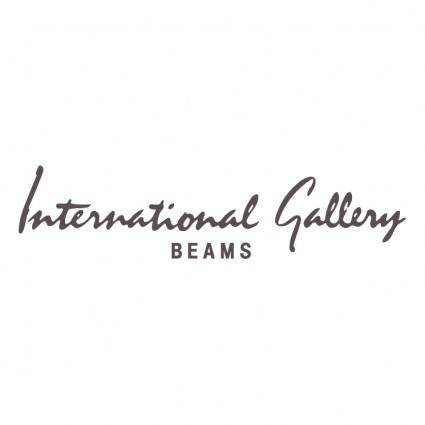 free vector International gallery beams