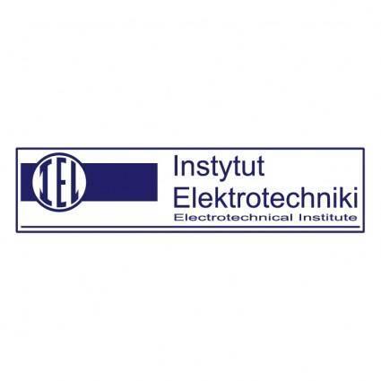 free vector Instytut elektrotechniki