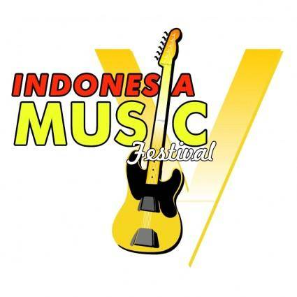 free vector Indonesia music festival