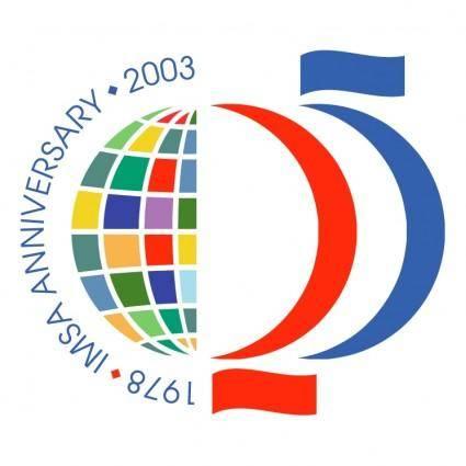 free vector Imsa 25 anniversary