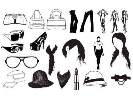 free vector Go media produced vector set15fashion trend