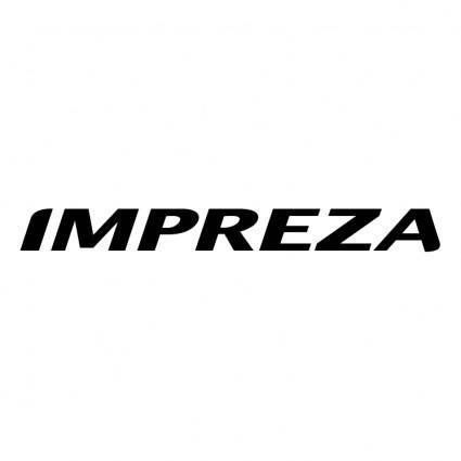 free vector Impreza 1