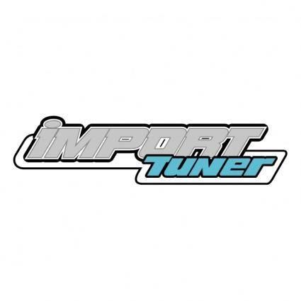 free vector Import tuner