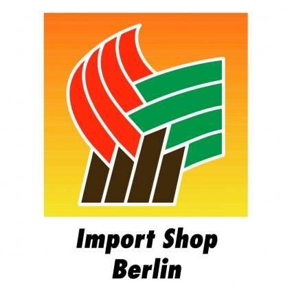free vector Import shop berlin