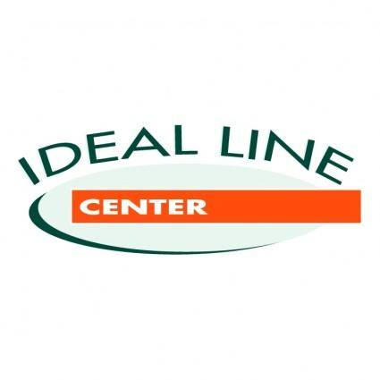 Ideal line center