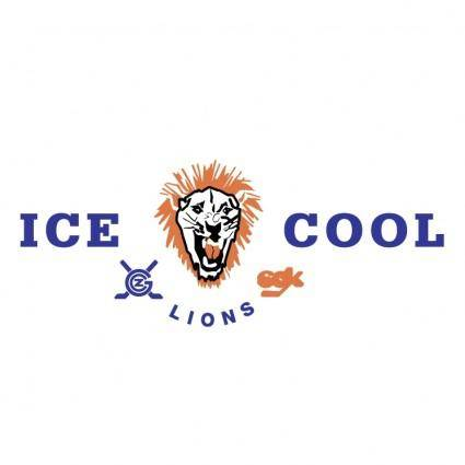 free vector Icecool lions