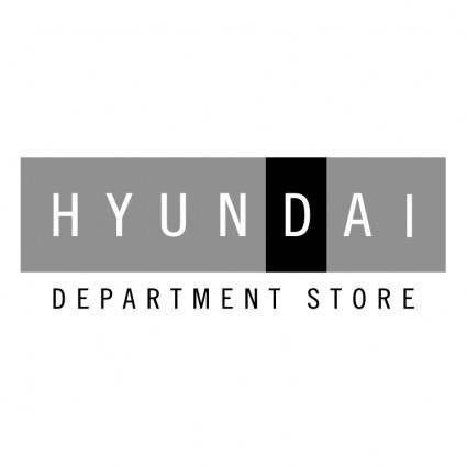 Hyundai department store 0
