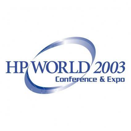 Hp world 2003 0