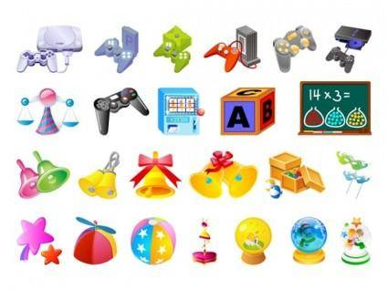 The fourth children toys vector